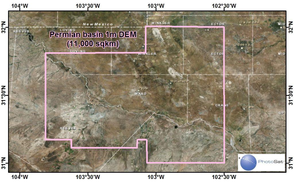 Permian Basin DEM